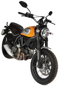 Ducati Scrambler Classic Restricted (2017) Motorbike Rental