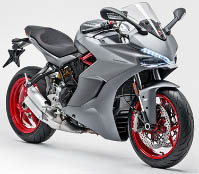 Ducati SuperSport S 2021 Motorbike Rental