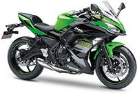Kawasaki Ninja 650 Tourer 2021 Motorbike Rental