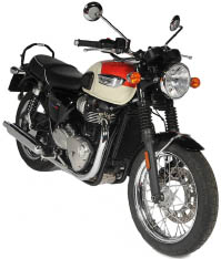 Triumph Bonneville T100 (2018) Motorbike Rental